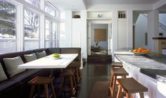 How to turn your kitchen into a lounge. http://www.designcontract.eu/green-design/how-to-turn-your-kitchen-into-a-lounge/