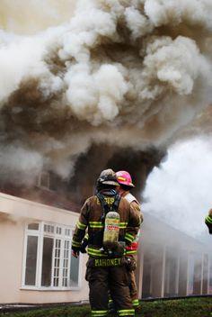 Practice burn house in Sammamish, WA.