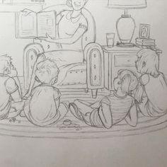 Story time - Illustration two of many.  #nathandouglasyoder #illustration