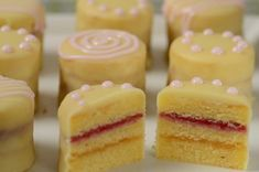 Video demonstrating how to fill and assemble petit fours!