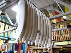 Surf shop: surfer's heaven   Photo: Pancho's Surf Shop