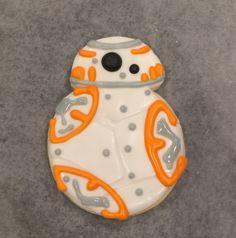 Star Wars The Force Awakens BB-8 cookies