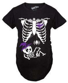 2ca934368cdf9 Witch Skeleton Maternity Shirt, Funny Maternity Shirt, Funny Pregnant Shirt,  Halloween Maternity Shi