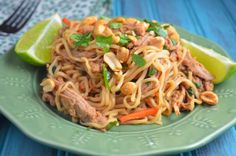 The Savvy Kitchen: Slow Cooker Chinese Pork Tenderloin with Garlic-Sauced Noodles