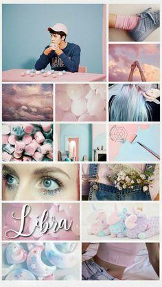 Exo Lockscreen, Wallpaper Lockscreen, Lock Screen Wallpaper, Wallpapers, Aesthetic Collage, Sehun, Cherry Blossoms, Twitter, Libra