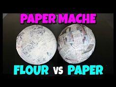 Paper Mache With Glue, Paper Mache Crafts For Kids, Paper Mache Diy, Paper Mache Paste, Making Paper Mache, Paper Mache Projects, Paper Mache Sculpture, Paper Plate Crafts, Glue Crafts