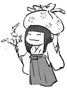 Story of Princess Kaguya - 女の童 | Me no Warawa - Studio Ghibli *