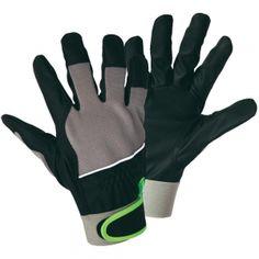 TS-9128 -Black PU Palm Keystone Thumb Mechanic Glove