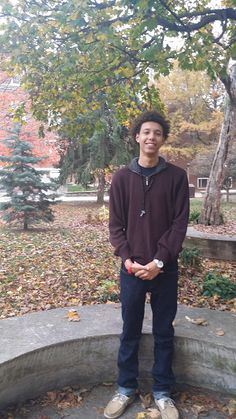 """""""Goofy!"""" That's what this week's campus celeb Donovan Roby answered when asked to describe himself in one word, and I h"""