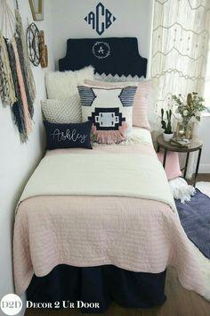 Dorm Bedding Sets Navy Best Blush Pink Comforter S