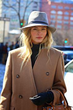 Natasha Poly, New York, February 2015
