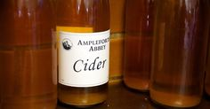 Ampleforth Abbey Cider  [Image courtesy Yorkshire Food Finder and Michael McKinstry]