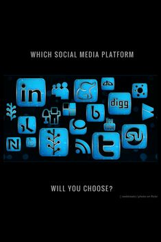 How do I decide which social media platforms to invest in? You are the audience. Where are you on social media? Content Marketing Strategy, Social Media Marketing, Digital Marketing, Competitor Analysis, Project Management, Platforms, Awesome, Amazing, Online Business