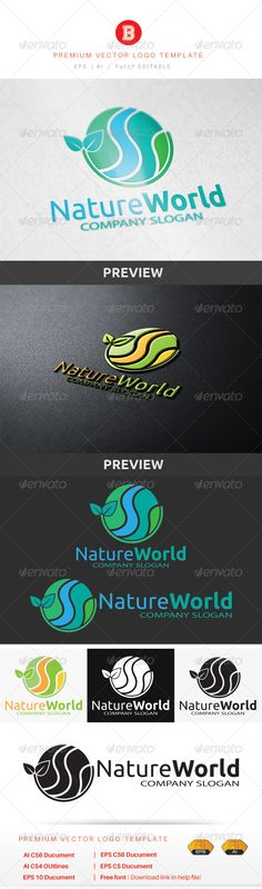 Nature World agriculture cosmetic earth eco eco friendly ecology energy environment financial fruity global health care herbal leaf natural nature net organic planet popu. Logo Design Template, Logo Templates, Summer Nature Photography, World Quotes, Company Slogans, Health Logo, Diy Skin Care, Organic Skin Care, Ecology