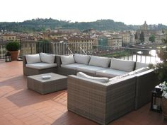 Florence tower Outdoor Sectional, Sectional Sofa, Terrazzo, Outdoor Furniture, Outdoor Decor, Florence, Home Decor, Rook, Modular Couch