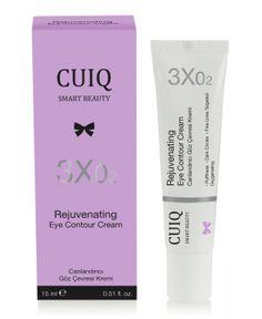 CUIQ Canlandırıcı Göz Çevresi Kremi 15 ml 3 etkili özel formülü, göz altı torbaları, koyu halkalar ve göz çevresindeki kırışıklıkları hedef alır. ·Biyoteknolojik aktifler, hyalüronik asit, rhodiola özü ile zenginleştirilmiştir. ·Göz çevresinin oksijenlenmesini ve canlanmasını sağlar. ·Daha aydınlık, pürüzsüz ve yumuşak bir göz çevresine kavuşturur. #cuiqbeauty #gözkremi #gözçevresibakımı #ciltbakımı #cilttemizliği #kozmetik #gözçevresikremi