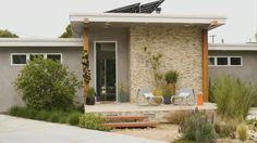 california native landscape to compliment california ranch style architecture