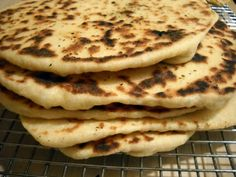 """herbed flatbread that uses amaranth flour -- a recipe from """"Good to the Grain"""""""