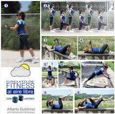 Libro de gimnasia facial. Ejercicios faciales.: Circuito de fitness al aire libre con lastres