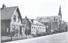 Kerk vanuit Terneuzensestraat met Rusthuis.