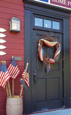 Primitive Flag Stakes add a touch of Americana to any landscape! $19.99 www.the13thcolony.net (866) 9-COLONY