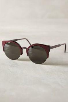 Super Lucia Francis Sunglasses Plum One Size Eyewear #anthrofave