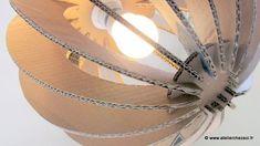 Plus de 1000 id es propos de luminaires sur pinterest lampes abat jour e - Fabriquer une suspension luminaire ...
