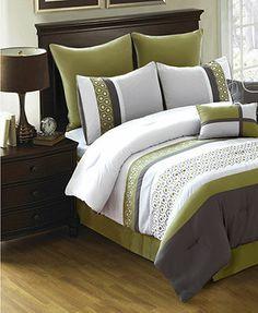 Densmore 8 Piece Queen Comforter Set