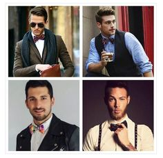 Why you should pick bow ties over ties. Stylish Watches, Watches For Men, Embedded Image Permalink, Women's Accessories, Dress Up, Bows, Mens Fashion, Bow Ties, Style