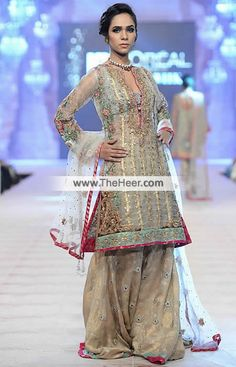 http://theheer.com/store/products.php?product=BW6178-Off-White-Carolina-Blue-Khaki-Banarasi-Crinkle-Chiffon-Raw-Silk-Sharara