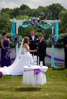 Wedding Reception Decorations, Wedding Table, Wedding Ceremony, Peacock Wedding Decorations, Turquoise Wedding Decor, Peacock Themed Wedding, Peacock Wedding Flowers, Table Decorations, Wedding Arches