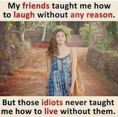 Quotes friendship funny woman girls 54 ideas for 2019 Best Friend Quotes Funny, Besties Quotes, Cute Funny Quotes, Funny Memes, Bestfriends, Bffs, Sister Friend Quotes, Funny Statuses, Friend Memes