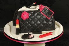 Makeup Bag Cakes The Perfect Birthday Cake For You Pinsuper50 Chanel Y