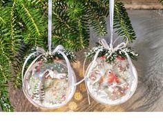 Vbs Acryl Kugeln 6er Pack O Ca 10 Cm Basteln Weihnachten Weihnachtskugeln Basteln
