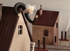 Irma Gruenholz  #clayillustrations