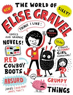 Elise Gravel Illustration: what I'm all about!