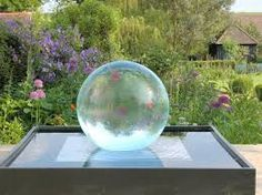 Image result for stainless steel water feature