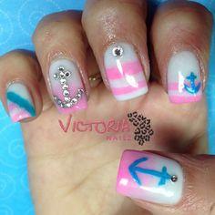 summer anchor nails