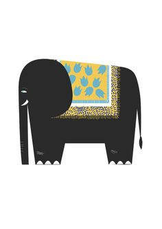 Alice Rebecca Potter - Elephant Art Print