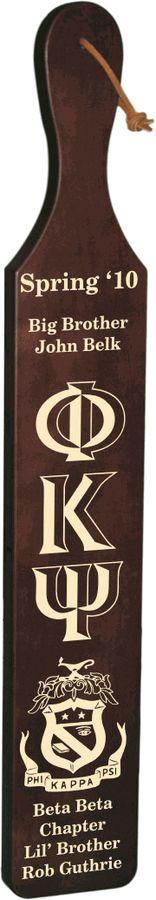 Phi Kappa Psi Deluxe Paddle