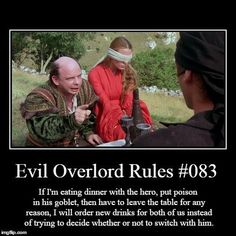 Evil Overlord Rules