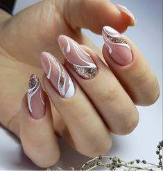 Girls Nail Designs, Manicure Nail Designs, Nail Art Designs Videos, Manicure E Pedicure, Cool Nail Designs, Nails Design, Pretty Nail Art, Cute Nail Art, Cute Acrylic Nails
