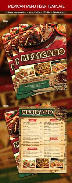 Japanese Menu Template Japanese menu, Menu templates and Menu - breakfast menu template