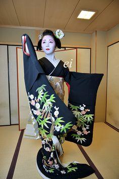Maiko Fumino 舞妓章乃 黒髪から芸妓へ・・・ : ちょっとそこまで