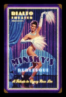 From the Greg Hildebrandt licensed collection this Gypsy Rose metal sign measures 24 inches by 36 inches and weighs in at 10 lb(s). This metal sign is Gypsy Rose Lee, Vintage Metal Signs, Office Wall Decor, Sexy Cartoons, Pin Up Art, Print Store, Sign Design, Pin Up Girls, Burlesque