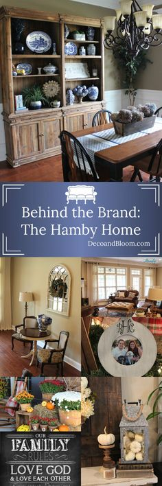 Behind the Brand: The Hamby Home From the Home Decor Discovery Community At www.DecoAndBloom.com