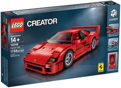 Lego's New Ferrari F40 Even Has a Removable V8 Engine