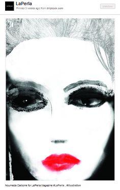 """""""Eva Green, Alain Delon e… il bello di La Perla suPinterest"""" di @Pinterestitaly"""