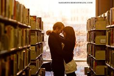I've always thought that libraries were romantic......
