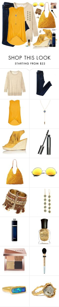 """A Place In The Sun"" by winscotthk ❤ liked on Polyvore featuring Toast, rag & bone, River Island, Vanessa Mooney, Givenchy, Mar y Sol, Christian Dior, Deborah Lippmann, Bobbi Brown Cosmetics and Too Faced Cosmetics"